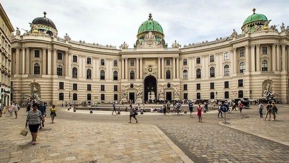 palais Hofburg Vienne