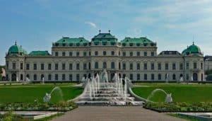 Belvedere à Vienne