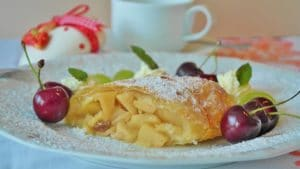 Apfelstrudel, les pâtisseries viennoises