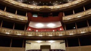 Opera de Vienne intérieur