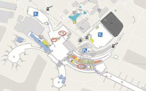 Plan aéroport Vienne
