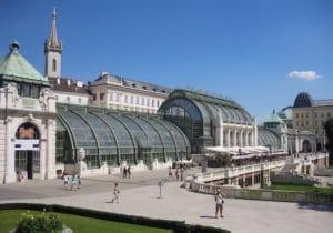 Serre aux papillons du palais Hofburg