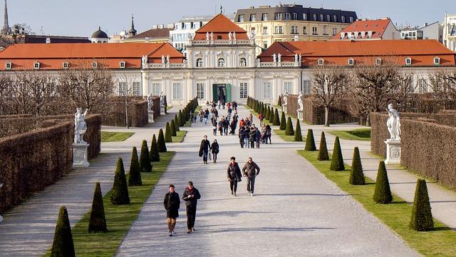 Vienne en avril