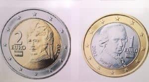 Pièces Euro Autriche