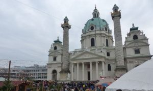 Marché de Noël sur la Karlsplatz