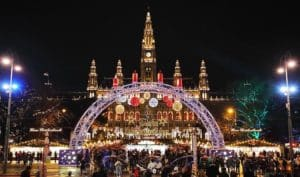 Marché de Noël de la Rathausplatz