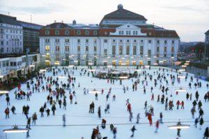 Patinoire à Vienne