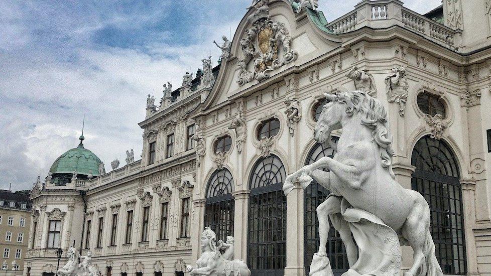 Vienne en février